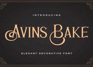 Avins Bake Font