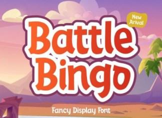 Battle Bingo Font