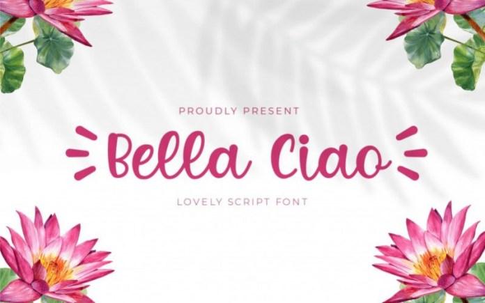 Bella Ciao Font