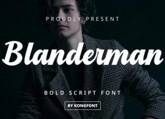 Blanderman Font