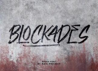 Blockades Font