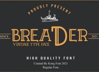 Breader Font