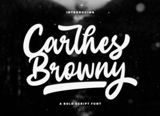 Carlhes Browny Font