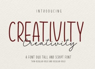 Creativty Font