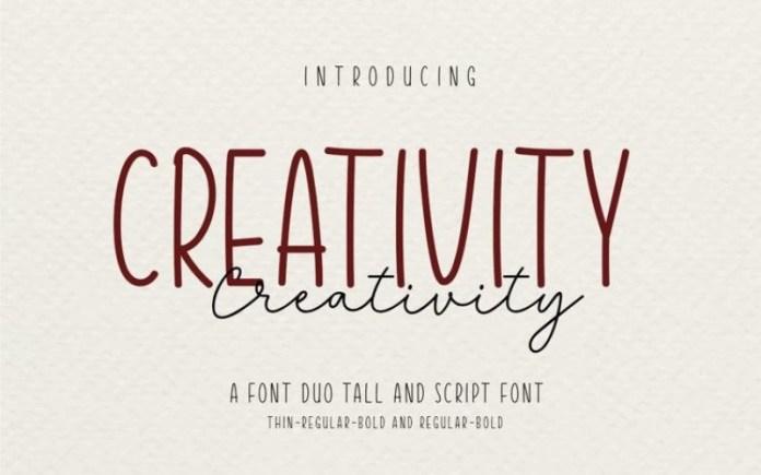Creativty Font