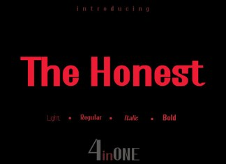 The Honest Font