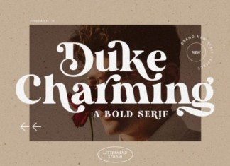 Duke Charming Font