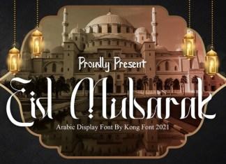 Eid Mubarak Font