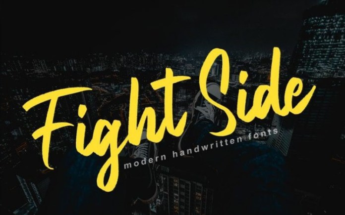 Fight Side Font