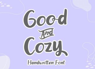 Good And Cozy Font