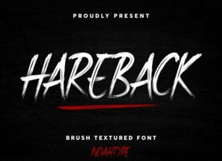 Hareback Font