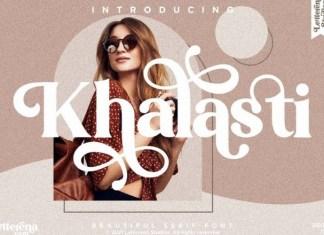 Khalasti Font