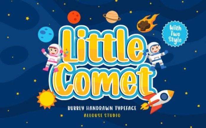 Little Comet Font
