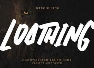 Loathing Font
