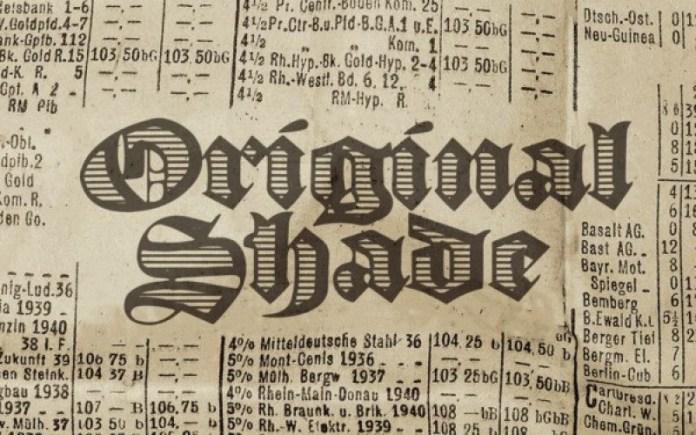 Original Black Font