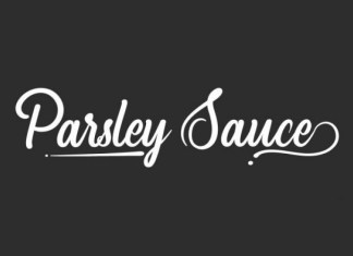 Parsley Sauce Font