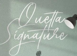 Quetta Font