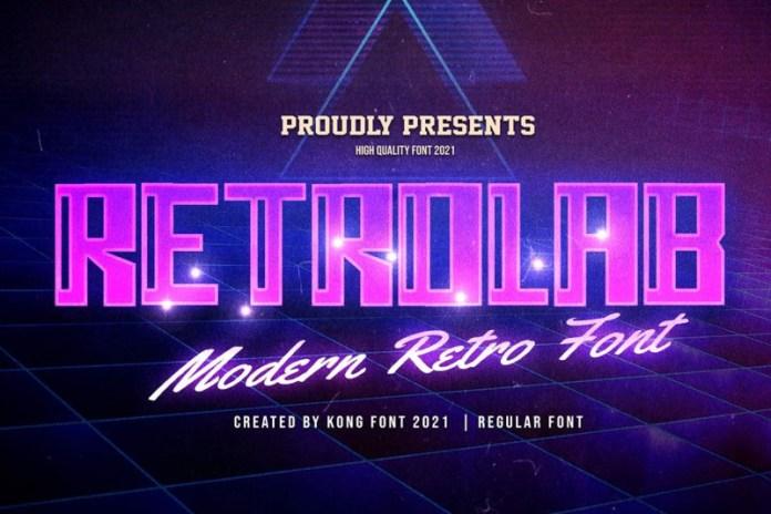 Retrolab Font
