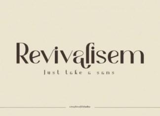 Revivalisem Font