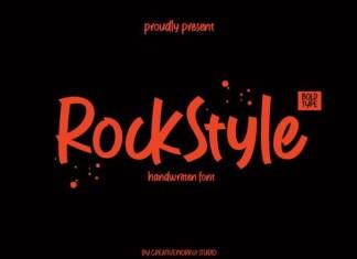 Rock Style Font