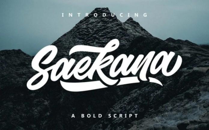 Saekana Font