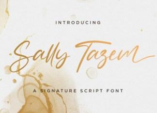 Sally Tazem Font