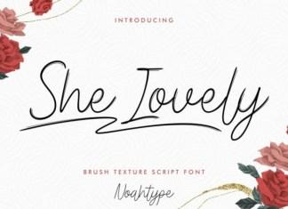 She Lovely Font