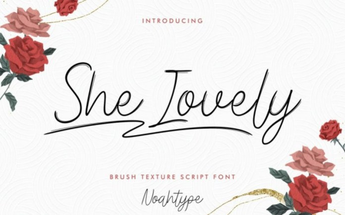 She Lovely Font