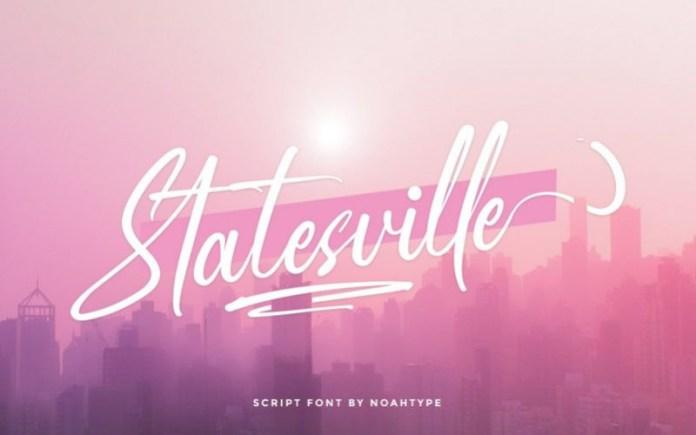 Statesville Font