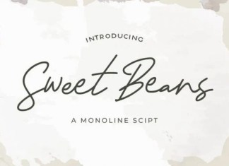 Sweet Beans Font