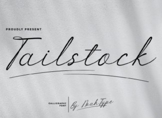 Tailstock Font