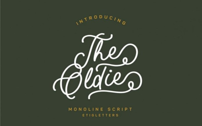 The Oldie Font