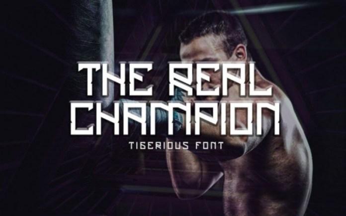 Tigerious Font