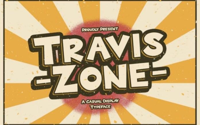 Travis Zone Font