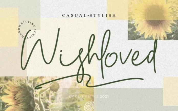 Wishloved Font