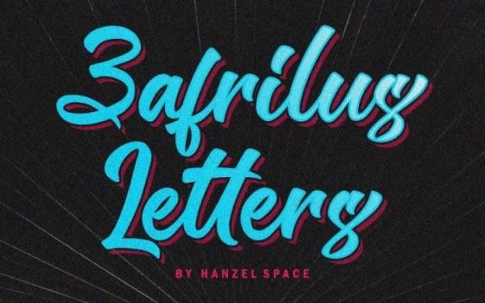 Zafrilus Font