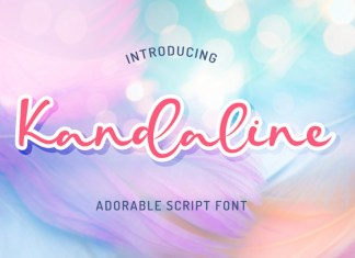 Kandaline Script Font