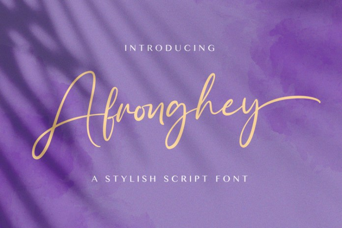 Afronghey Font