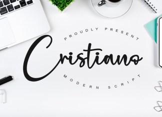 Cristiano Script Font