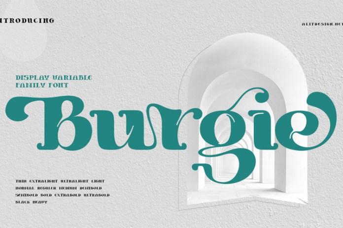 Burgie Font