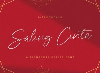Saling Cinta Font