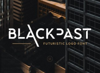 Blackpast Display Font