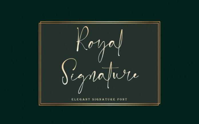 Royal Handwritten Font
