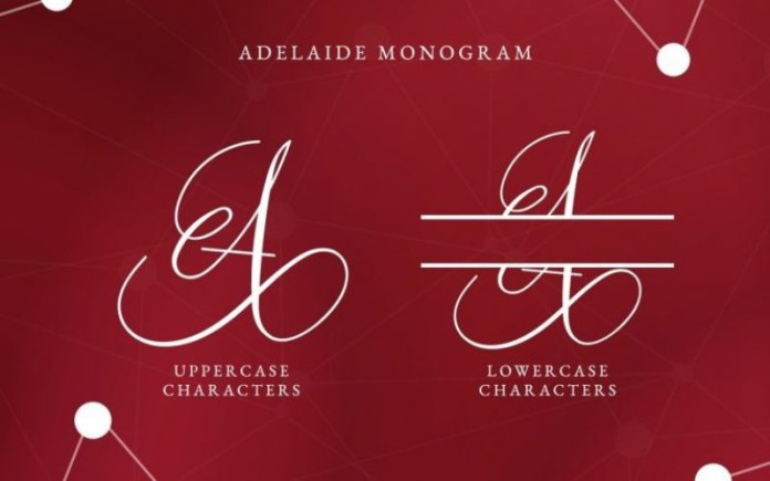 Adelaide Calligraphy Font
