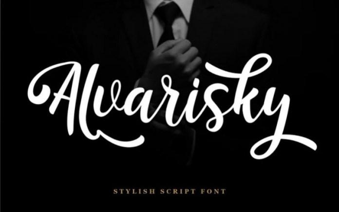 Alvarisky Script Font
