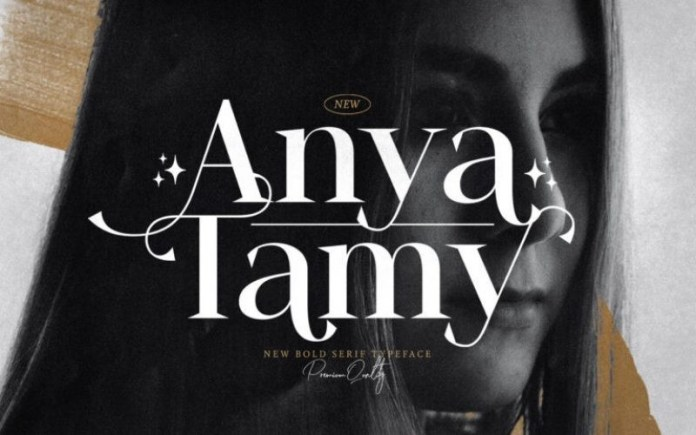 Anya Tamy Serif Font