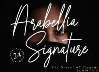Arabellia Signature Script Font