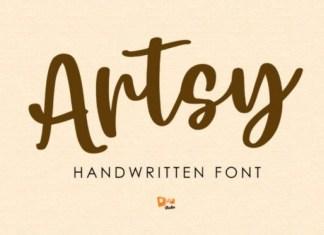 Artsy Font