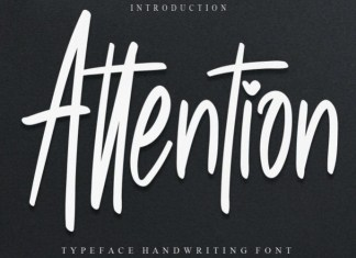 Attention Font