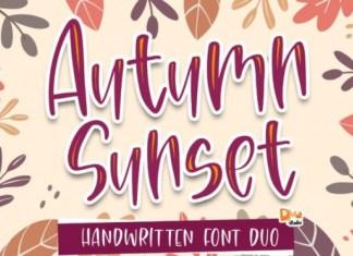 Autumn Sunset Font